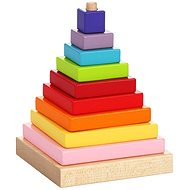 Cubika 13357 Multicoloured Pyramid - Building Kit