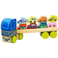 Cubika 13418 Truck with Cars - Building Kit