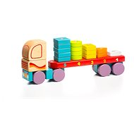Cubika 13425 Truck with geometric shapes - Building Kit