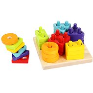 Cubika 13814 Sorting Shapes III - Building Kit