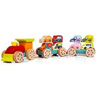 Cubika 13999 Train with Cars - Building Kit