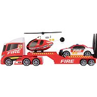 Teamsterz Firefighting Helicopter Transportation with Sounds and Lights - Toy car