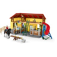 Schleich 42485 Horse Stable with Accessories
