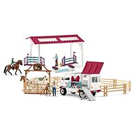 Schleich Special Large Set with Mobile Vet and Riding Stables