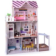 Woody Malibu Pink House with Lift - Doll House