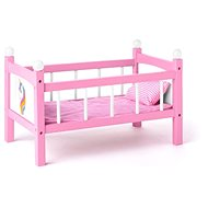 Woody Doll Cot with Blankets - Unicorn - Doll Accessory
