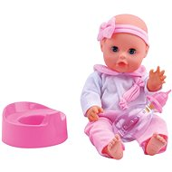 Baby Bambolina Amore 33cm with Firm Body and Varied Functions - Doll Accessory