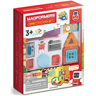 Mini Robots in the Kitchen - Magnetic Building Set