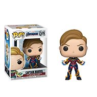 Funko POP Marvel: Avengers Endgame W3 - Captain Marvel w/New Hair - Figure