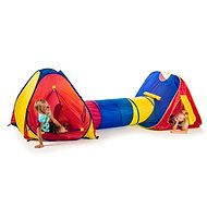 Teddies 2 Tents with a Tunnel - Children's tent