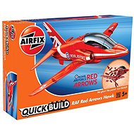 Airfix Quick Build J6018 Airplane – Red Arrows Hawk - Plastikový model