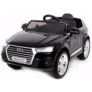 Audi Q7 black lacquered - Children's electric car