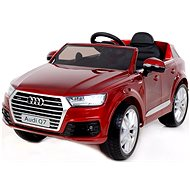 Audi Q7 red painted - Children's electric car