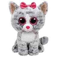 Beanie Boos Kiki - Grey Cat - Plush Toy