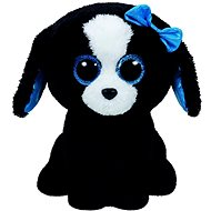 Beanie Boos Tracey - Black/White Dog - Plush Toy