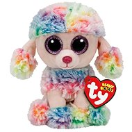 Beanie Boos Rainbow - Multicolour Poodle - Plush Toy