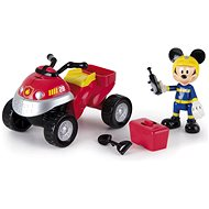 Micro Trading Mickey Mouse rescue quad bike with accessories - playing kit