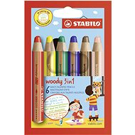 Stabilo Woody 3in1 - Coloured Pencils