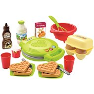 Ecoiffier Waffle Maker Play Set - Children's toy dishes