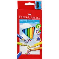 Faber-Castell Coloured Pencils Jumbo, 10 Colours