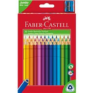 Faber-Castell Coloured Pencils Jumbo, 30 colour