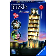 Ravensburger 3D 125159 Pisa (Night Edition) - 3D puzzle