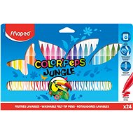 Maped colour Peps Jungle, 24 colours - Felt Tip Pens