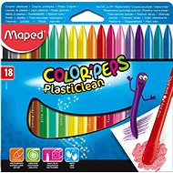 Maped Colour Peps Plasticlean, 18 colours - Coloured Pencils
