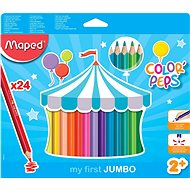 Maped Color Peps Jumbo, 24 colours - Coloured Pencils