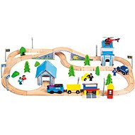 Train Track with Train - Train Set