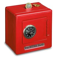 Small Foot Metal Safe Red - Cash Box