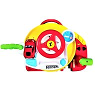 Ferrari with steering wheel