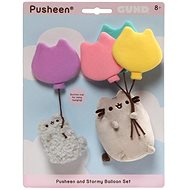 Pusheen and Stormy Baloon set
