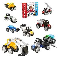 SmartMax Mix Vehicles - Magnetic Building Set