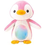 Penguin Sleeping Pillow - Pink - Night Light