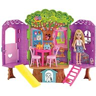 Barbie Chelsea and a tree house