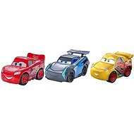Cars 3 Mini Cars Metallic 3pcs - Toy car
