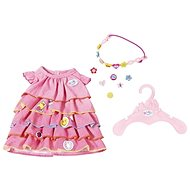 BABY Born Summer dress with clip-on decorations