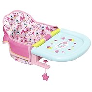 BABY Born Booster Seat, table attachment - Doll Accessory