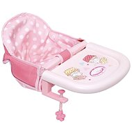 BABY Annabell Booster Seat, table attachment - Doll Accessory