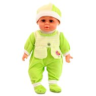 Doll with sounds - green - Doll