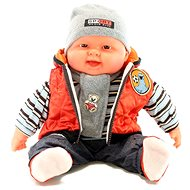 Baby Boy - Orange Vest - Doll