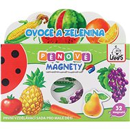 Foam Magnets - Fruit and Vegetables - Educational Toy
