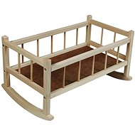 Wooden cradle - Doll Furniture