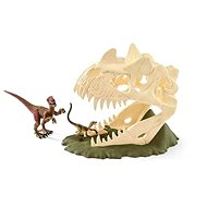 Schleich 42348 Great Skull with Velocirapter and Lizard - Game set