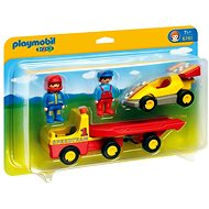 Playmobil 6761 1.2.3 Tow Truck with Race Car - Building Kit