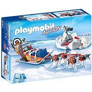 Sleigh with dogs - Building Kit