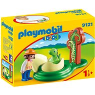Playmobil 9121 Girl with Dino Egg - Building Kit