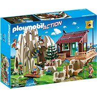 Playmobil 9126 Rock Climbers with Cabin - Building Kit