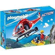 Helicopter of mountain rescuers - Building Kit